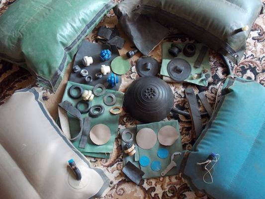 запасные части к резиновым лодкам